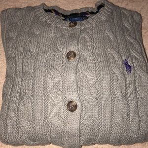 Girls Polo sweater
